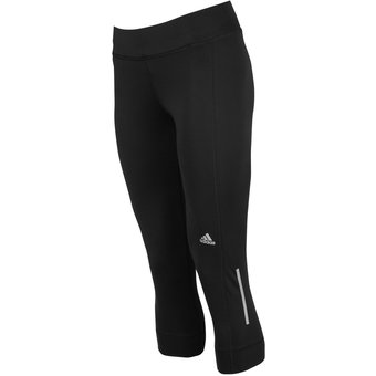 64fc6d45e2040 Agotado Pantalon Licra Adidas Mujer Correr Negro 3 4 Sequencials Climacool