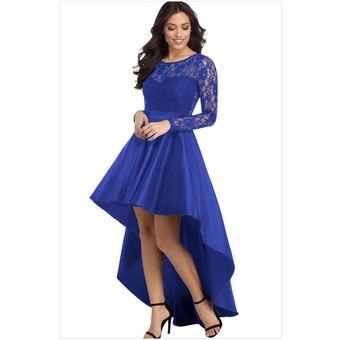 Compra Vestido de noche para fiestas Genérico Mujer- Azul online ... 60b40f4bdfef