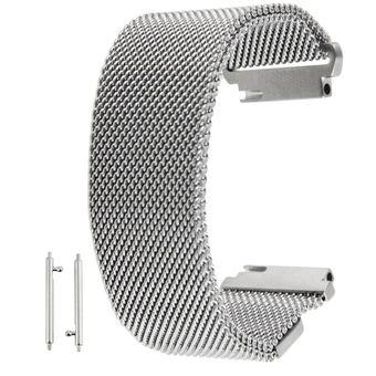 90f00620b 18mm Magnetic Milanese Loop Iman Cierre Correa Acero Inoxidable Pulsera  Banda Reloj De Pulsera Para Huawei