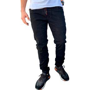 1f8f4cb567 Pantalón Jogger Negro Manpotsherd