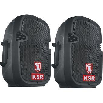 la compra auténtico diversos estilos excepcional gama de estilos KAISER KSR-KIT DE 2 BOCINAS BAFLES RECARGABLE AMPLIFICADA 8