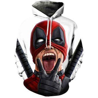Contrato famélico Paja  Sudadera con capucha de superhéroe Deadpool de Marvel 2 con estampado en 3D  para hombre y mujer,ropa de calle,sudadera con capucha,ropa divertida de  moda(#WY93) | Linio Perú - GE582FA0504STLPE