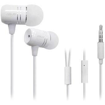Auriculares Intrauditivos Con Cable ASUS W/ Mic Para ASUS Smart Phones – Blanco