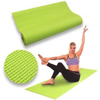 Compra Colchoneta Para Yoga Mat Pilates Fitness Deporte 6mm - VERDE ... 8acfa1de29a5f