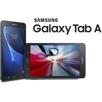 Tablet Samsung Tab A T280 7Pulgadas 8GB +Micro SD 16GB-Negra