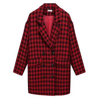 9f266bc2a44 Compra Chaqueta Mujer Cuero Sintético-Rojo online