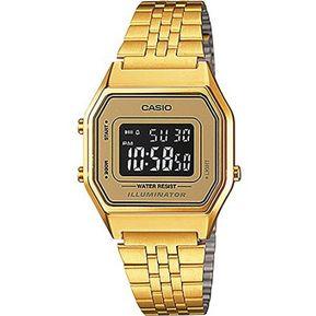 71ccf8b4c27f Reloj Casio Vintage LA-680WGA-9BDF-Dorado