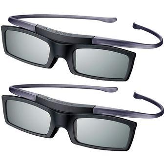 encontrar mano de obra sensación cómoda hermoso estilo samsung - lentes 3d samsung pack x2 unidades activos ssg-51002 - negro