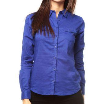 a92b1718b9 Compra Blusa Kenzo Jeans Jessy Azul Rey online