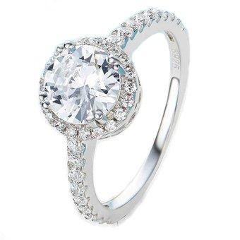 a0d2ced08e92 Compra Záffira - Anillo Compromiso De Plata Con Cristales Swarovski ...