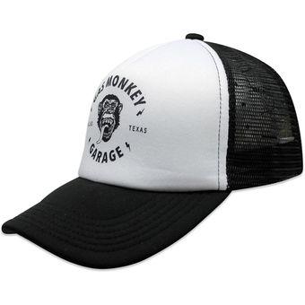 fd0d49118c8 Compra Gorras Gas Monkey Garage Curva Trucker Negro online   Linio ...