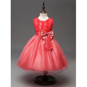 8dcb1bca2 Compra Fiesta Princesa Vestidos Cumpleaños Niños Vestido online ...