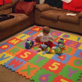 fc4a6346620 Compra Pack alfombra goma eva para niños 50 unidades   N ofertas ...