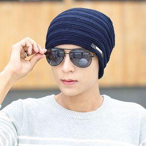Diseño De Moda Hombre Mujer Otoño Invierno Tejidas PAC Mantenga Caliente El  Hip-hop Hat 6b0388a405d