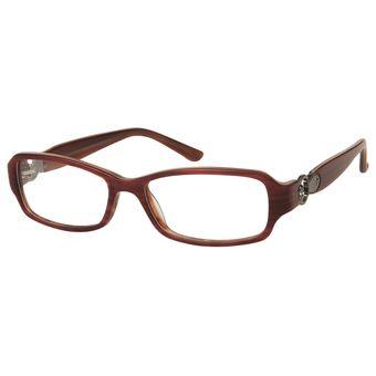 69b42d720b539 Monturas Acetato Oftálmicas Para Mujer Lentes Opticos Formulados - Gafas  Marco - AD33B - Café
