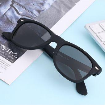 79b051e26d Agotado EW Navidad Gafas De Sol Polarizadas Clásicas Para Hombres Y  Mujeres-lente Gris Negro
