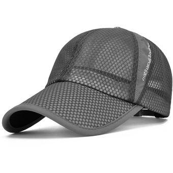 bed7eea0db50a Gorras De Gorra De Béisbol UV Cortar Corriendo Sombrero De Sol Para Hombres  Y Mujeres-