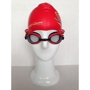 Natacion niños Disney Cars 3 Pcs Gorro gafas estuche 41584235bb6