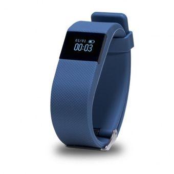Fit Band Exo Smart E10 Podometro Y Bluetooth Azul