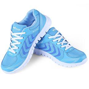c1389a4011019 Zapatos Femeninos Respirables De Malla De Nido De Abeja Deportes Zapatillas  Para Correr Al Aire Libre