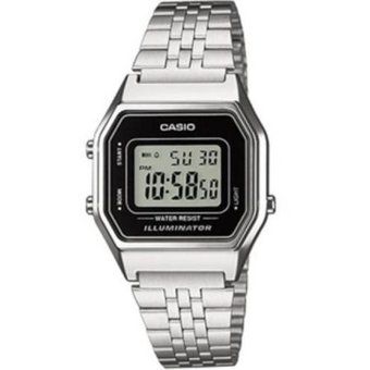 77d153abaa58 Compra Reloj Casio La680wa-1df Digital Vintage Plateado online ...