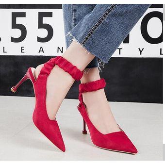 b94e53e5 Compra Zapatos de tacon Generic Mujer-rojo online | Linio Chile