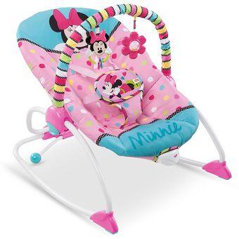 silla mecedora vibradora crece conmigo bebe disney babyh 76 rosada - Bebe Disney