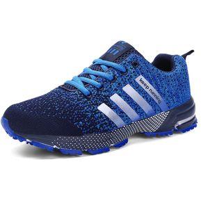 5ce7041f Zapatillas Deportivas Correr Para Parejas De Ocio - Azul