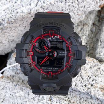 dafb5a0997d5 Agotado Reloj Casio G-Shock GA700SE-1A4 Digital Analogico Luz Automatica -  Negro Rojo