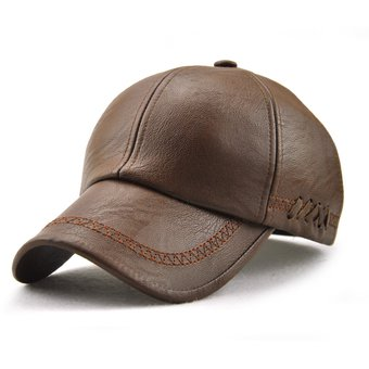 Compra Sombreros De BeÃsbol Con Cordones De Cuero De PU Gorras ... 748136b3cd9