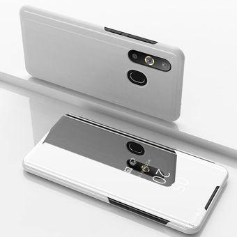 8fe10dd4fa5 Compra Funda De Chapado Espejo Para Samsung Galaxy A30-Plata online ...