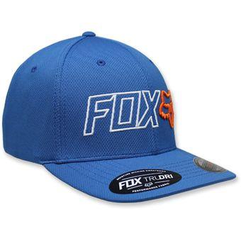 Compra GORRA FOX OUTLINE FLEXFIT AZUL online  bced3cd1edd