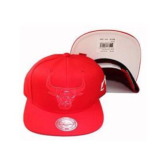Agotado Mitchell And Ness - Gorra Para Hombre NBA Chicago Bulls - Rojo 39536bd4320