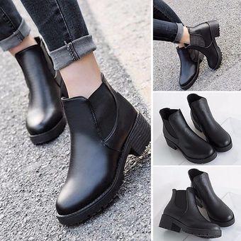 México Cuero Mujer Negro Ge598fa17sp5olmx Zapatos linio Botines Para BQoWCerdx