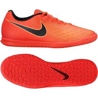 the latest 15173 73a30 Agotado Guayos Fútbol Hombre Nike MagistaX Ola II IC -Naranja