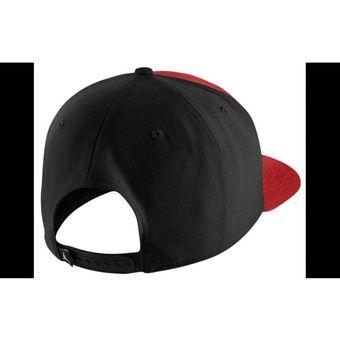 0d0e7b636ce Agotado JORDAN - Gorras para hombre JORDAN JUMPMAN SNAPBACK - Rojo Negro