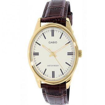 dcba8bb731bd Compra Reloj Casio Mujer LTP-V005GL-7A Análogo Pulso Cuero online ...