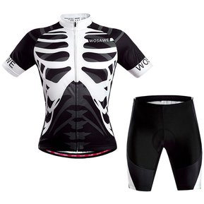 Uniforme Ciclismo Jersey + 3D Gel Padded Short Bici Ruta Bicicleta Hombre  Reflectante Noche 8f1fb0191d7e0