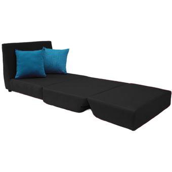 Compra sof cama negro muebles fantas a online linio for Muebles atlantico norte