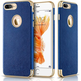 carcasa iphone 8 plus azul