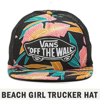 Gorra Vans Original Vans Beach Girl Trucker Hat 1ecdd94ed8a