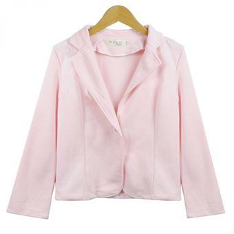 Compra Blazer Chaqueta Corta OL Para Mujer-Rosado online  afb52806023c
