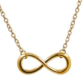 dbd738a3d96f Agotado Collar Harmonie Accesorios Con Dije En Infinito Para Mujer Dorado