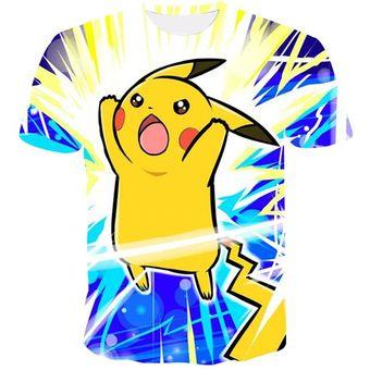 Pokemon Casual 3d Pokemon Harajuku Camisetas Para Hombres Ropa Manga Corta Kpop Camisetas Correctivas Hip Hop Tallas Grandes 4 Linio Colombia Ge063fa0i4katlco