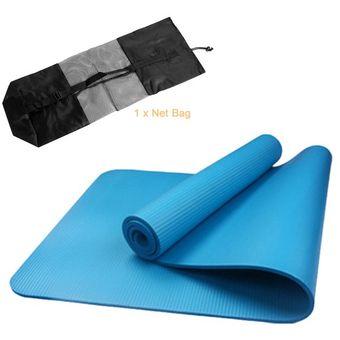 Agotado Insípido plegable NBR esterilla de yoga ejercicio Pad jugar Piso Mat  + correa + Net bolsa 8167c82ea17d