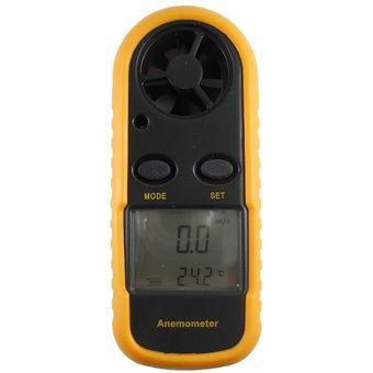 Anemometro Digital Portatil Gralf Wh816 Viento Temperatura