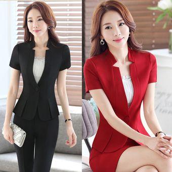 4bda2431f9f5 Trajes Con Chaleco Para Mujer Faldas Y Sacos Formales De Oficina Y Negocio  - Negro