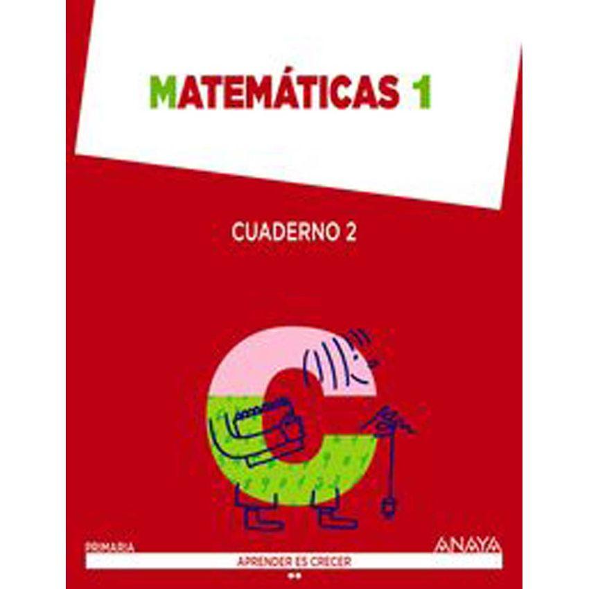 Cuaderno Matemáticas 2-1°primaria. Aprender Es Crecer