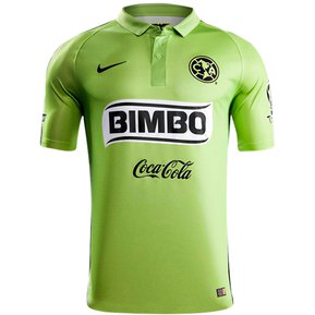 Jersey Nike Aguilas Del America Verde De Visitante 6b0de73bad4fa