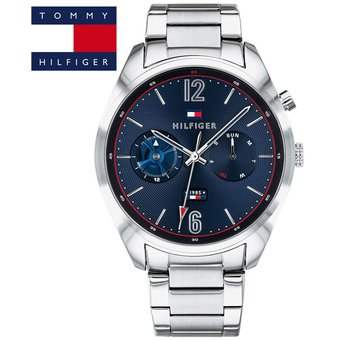 7f561e72c86c Agotado Reloj Tommy Hilfiger 1791551 Deacan Acero Inoxidable - Plateado